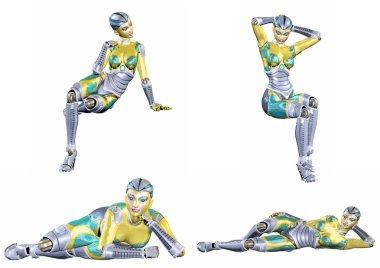 Female Robot Pack - 5of5