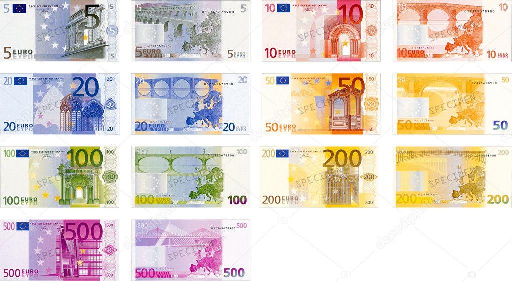 euro bankbiljetten pack stockfoto chastity 10499236. Black Bedroom Furniture Sets. Home Design Ideas