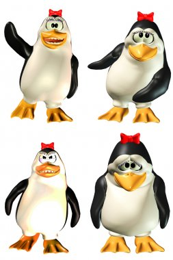 Female Penguin Pack