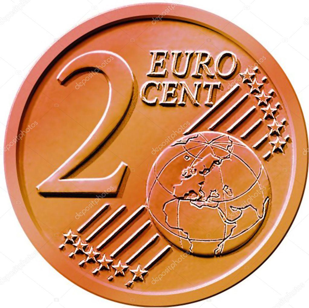 Two 2 cent euro coin stock photo chastity 9125112 - Stock piastrelle 2 euro ...
