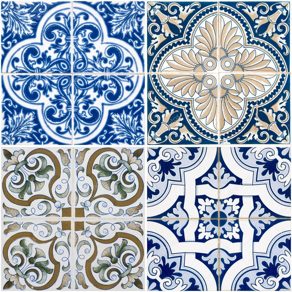 Vintage ceramic tiles — Stock Photo © homydesign #9326258