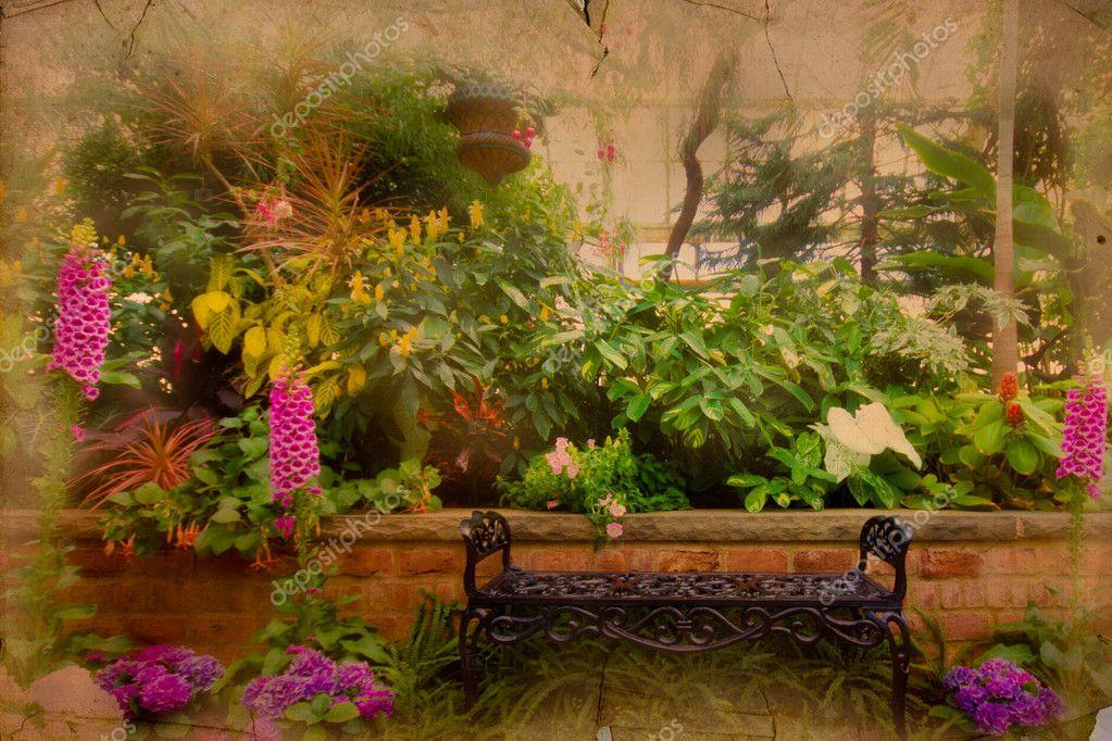Vintage Style Garden Bench
