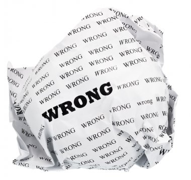 Wrong do not need to