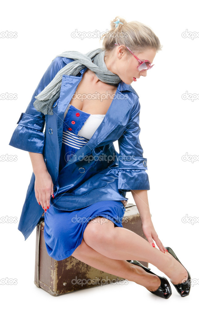 femme c libataire voyager photographie sergieiev 8418811. Black Bedroom Furniture Sets. Home Design Ideas