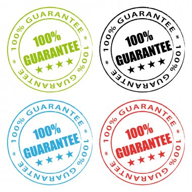 100% Guarantee. Vector stamps set.