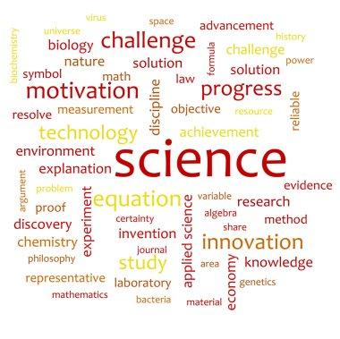 Science word cloud