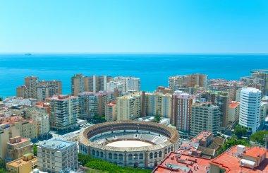 View of Malaga.