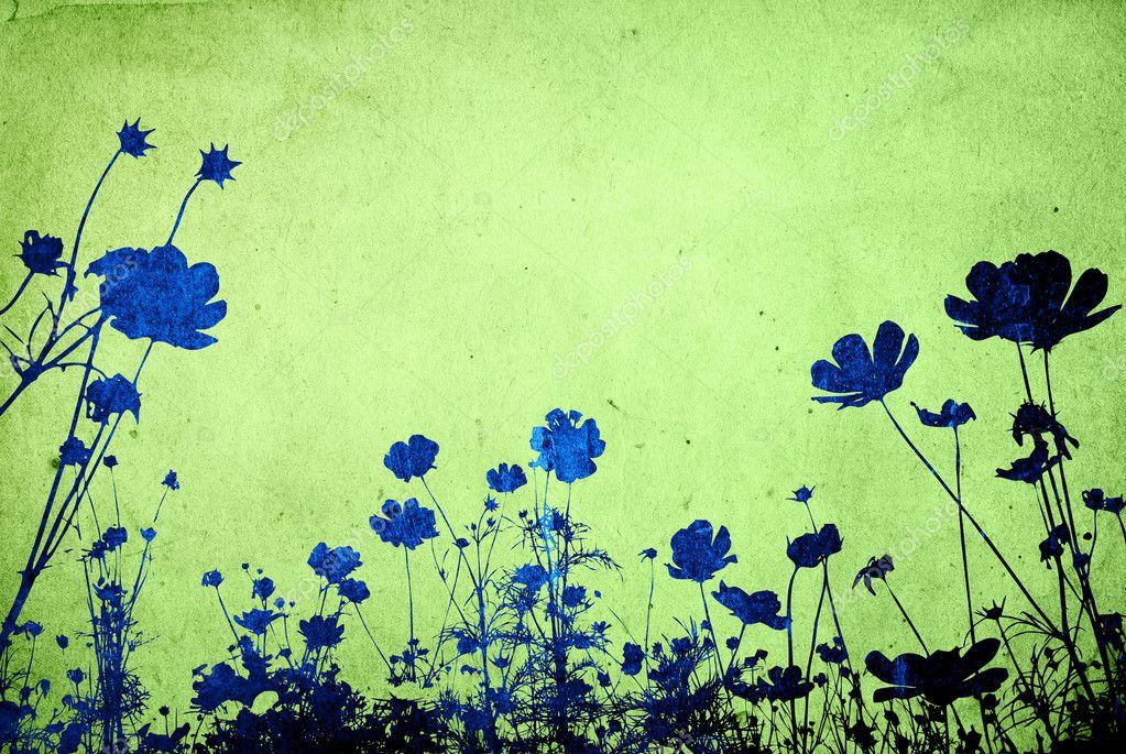 Multicolor foliage background