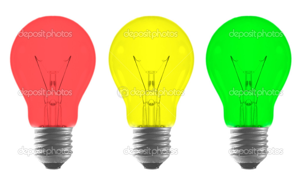 background light illustration stock online concept environment on black green bulb