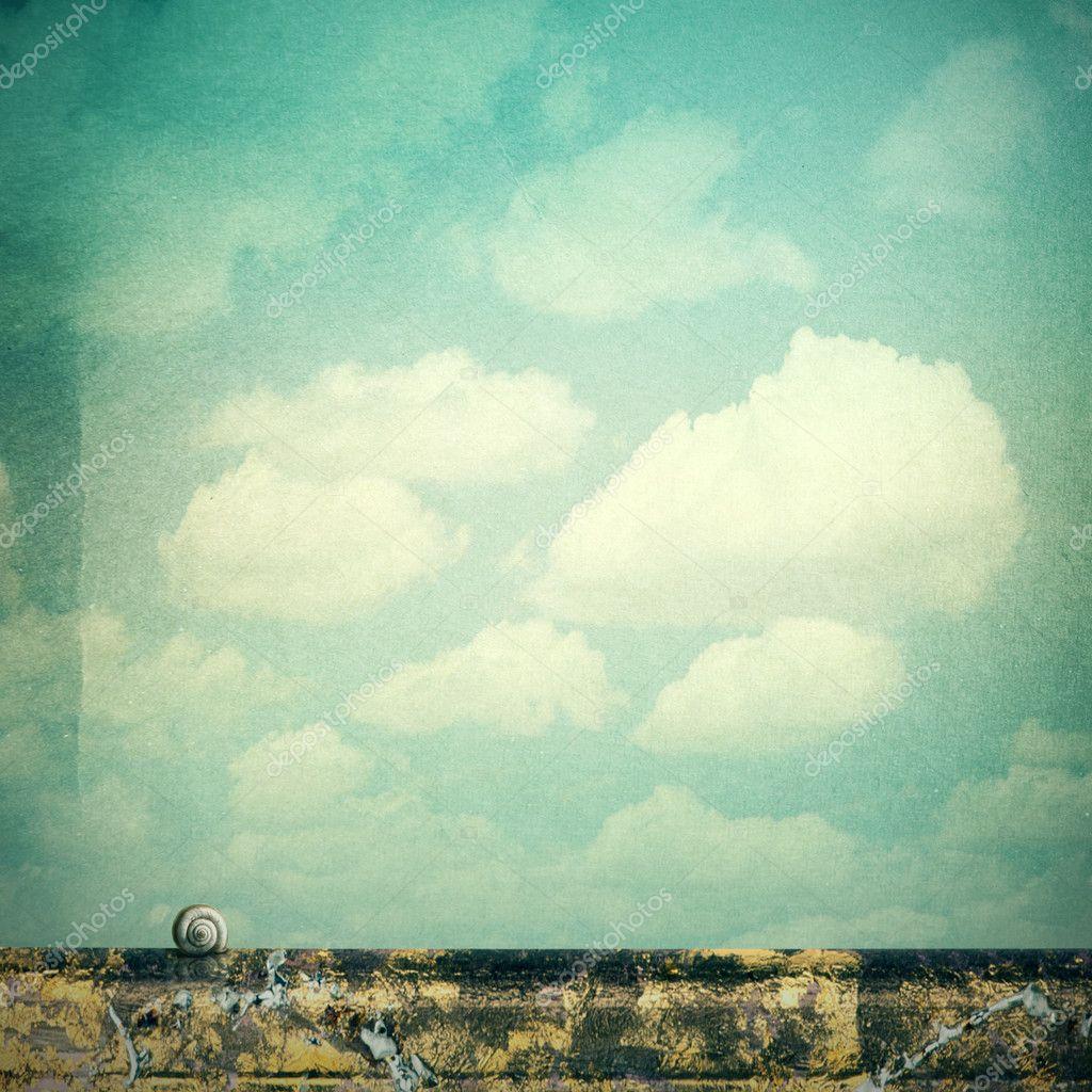 Simple landscape sky
