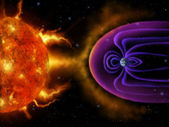 Earths Magnetosphere - Digital Painting