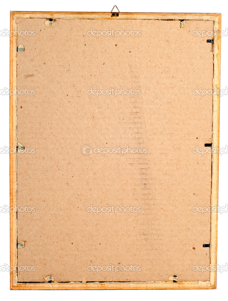 parte posterior en el marco — Foto de stock © borojoint #10255584