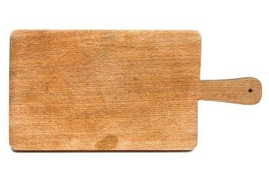 Used chopping board