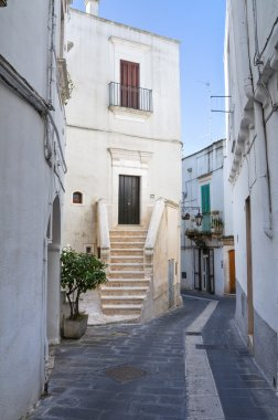 Alleyway. Martina Franca. Puglia. Italy.