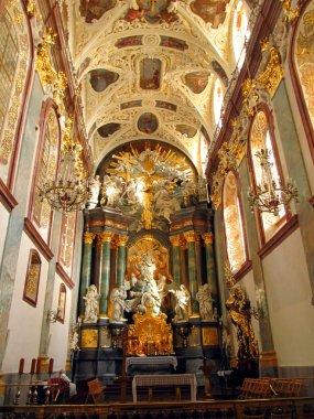 Interior of the Basilica of Jasna Gora in Czestochowa