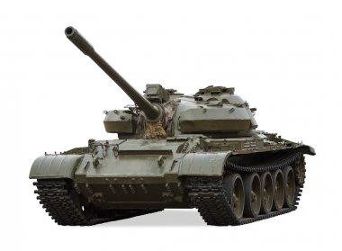 T-55 Old Main Battle Tank, Russia