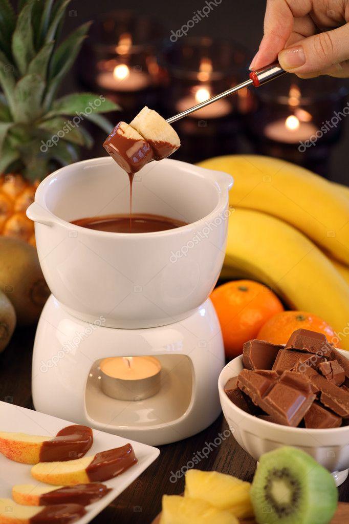 choklad till fondue