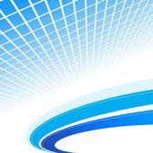 astratto sfondo blu. illustrazione vettoriale