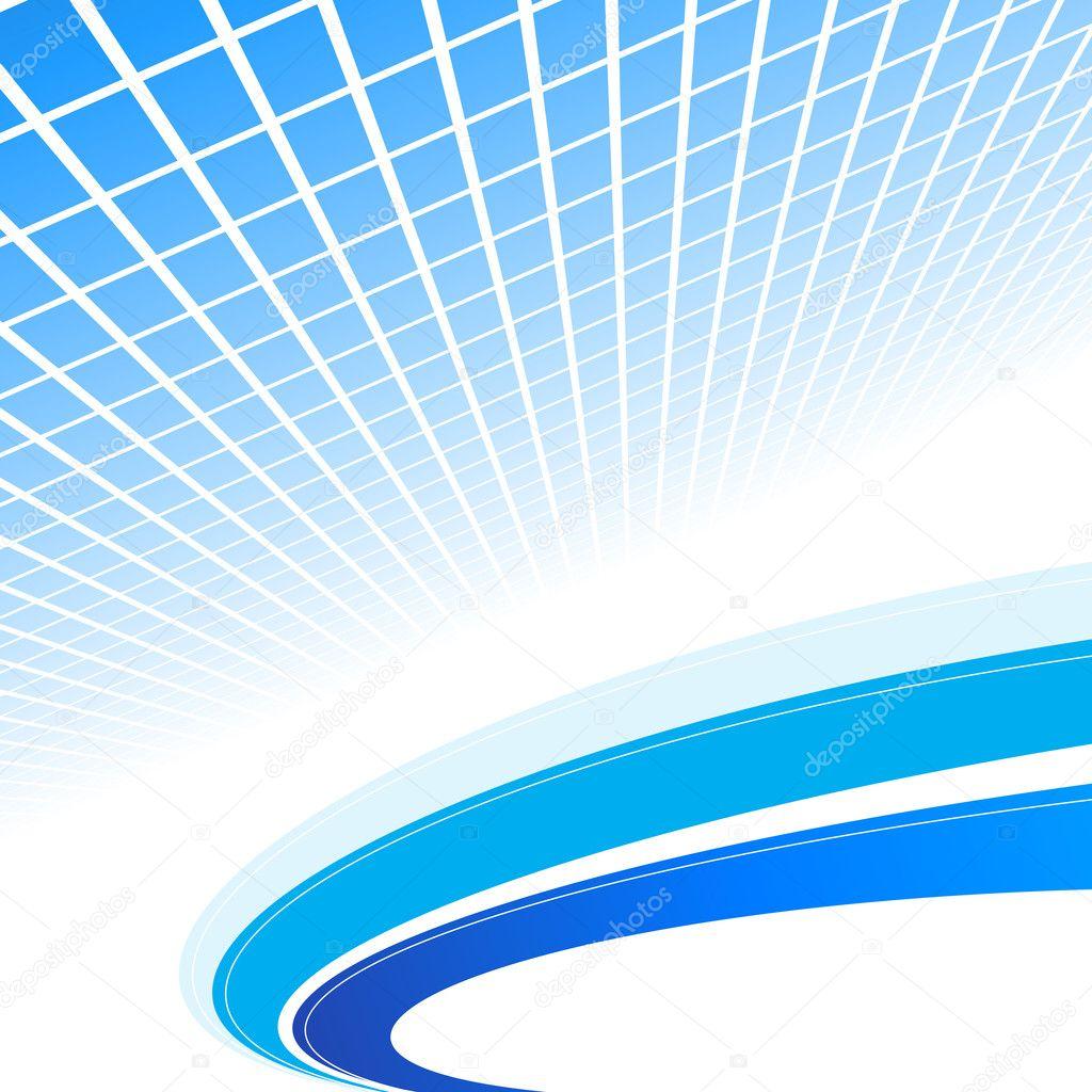 Abstract Blue Background Vektor Illustration Stockvektor