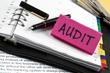 Audit on agenda and pen