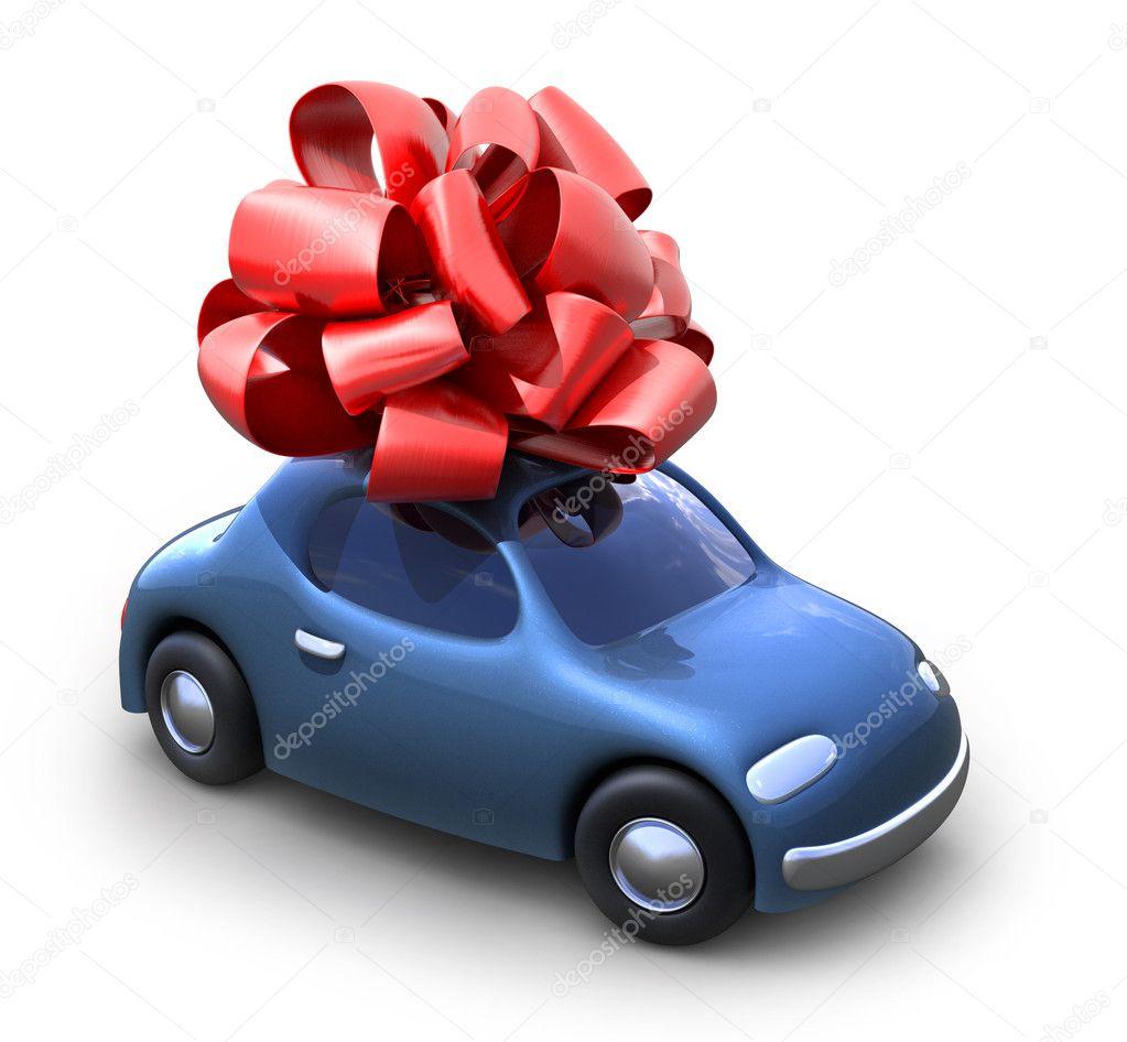 Открытка к покупке машины, днем рождения