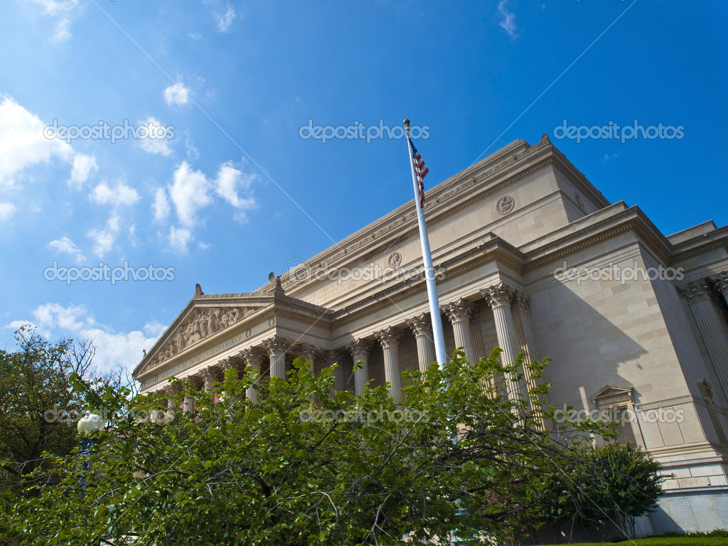 The National Archives Building, known informally as Archives I, located north of the National Mall on Constitution Avenue in Washington, D.C., opened as its original headquarters in 1935.