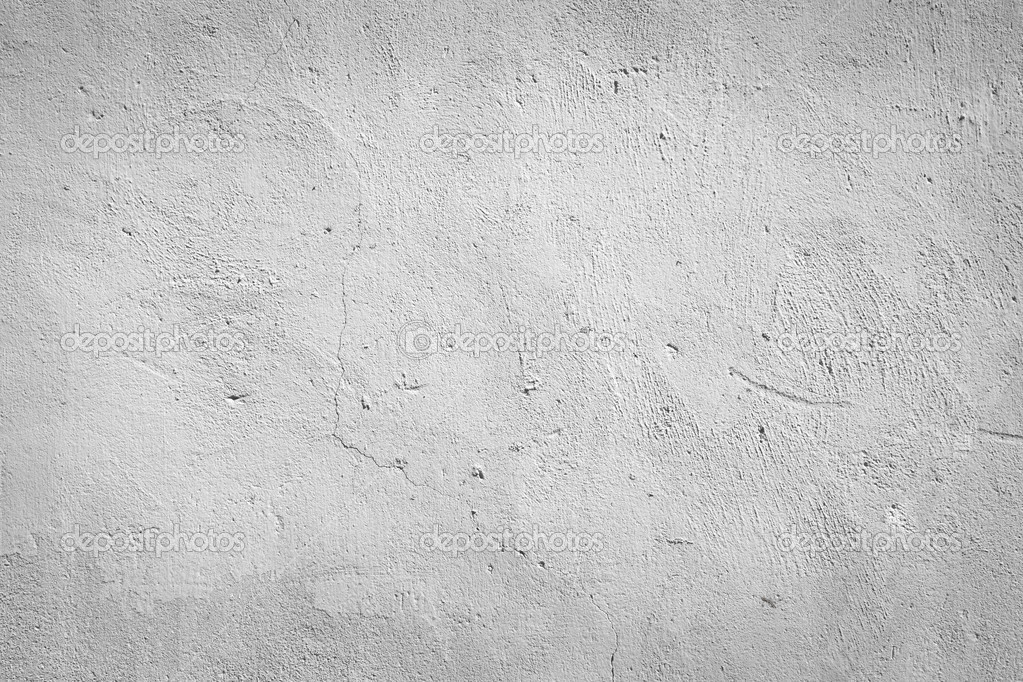 Concrete White Painted Wall Background