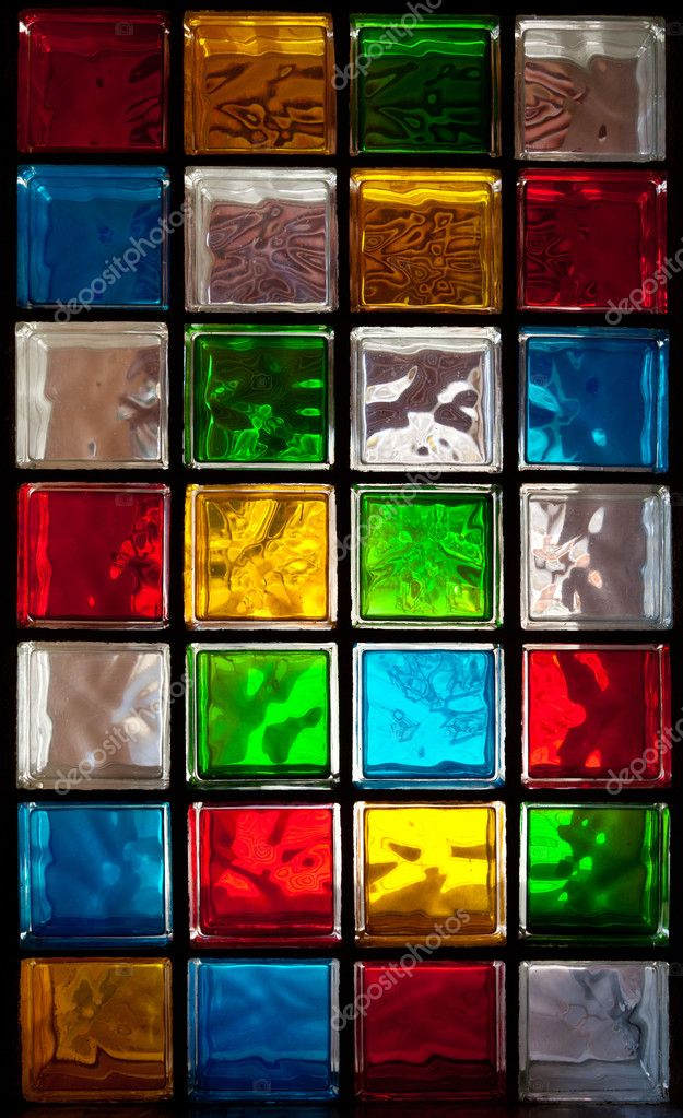 Decorative Glass Blocks In Diffe, Decorative Glass Blocks