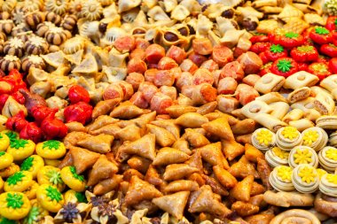 Traditional moroccan sweets