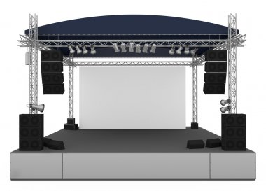 Concert stage