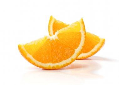 Two Slices of Orange