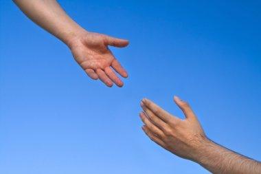 Helping Hand Reaching