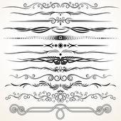 Fotografie dekorativní linkování