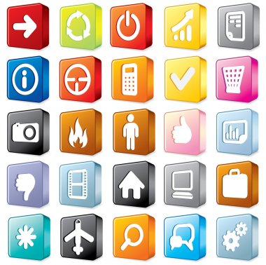 3D Interface Icons 2