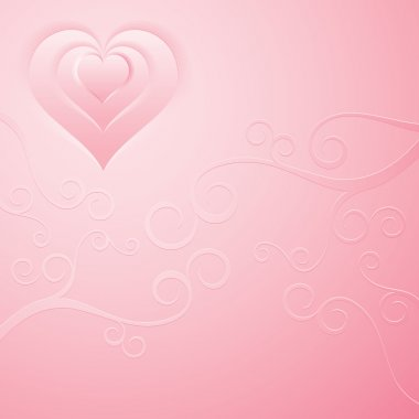 Smooth pink background clip art vector