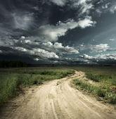 silniční a obloha