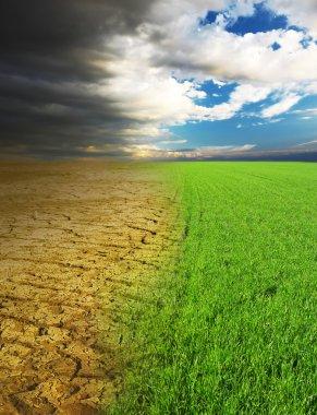 Climate concept