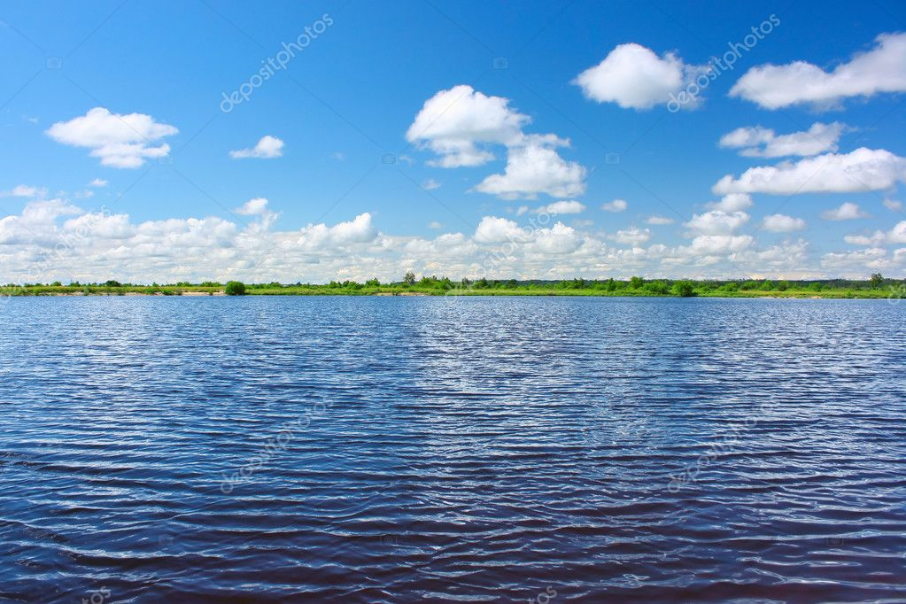 Фотообои River