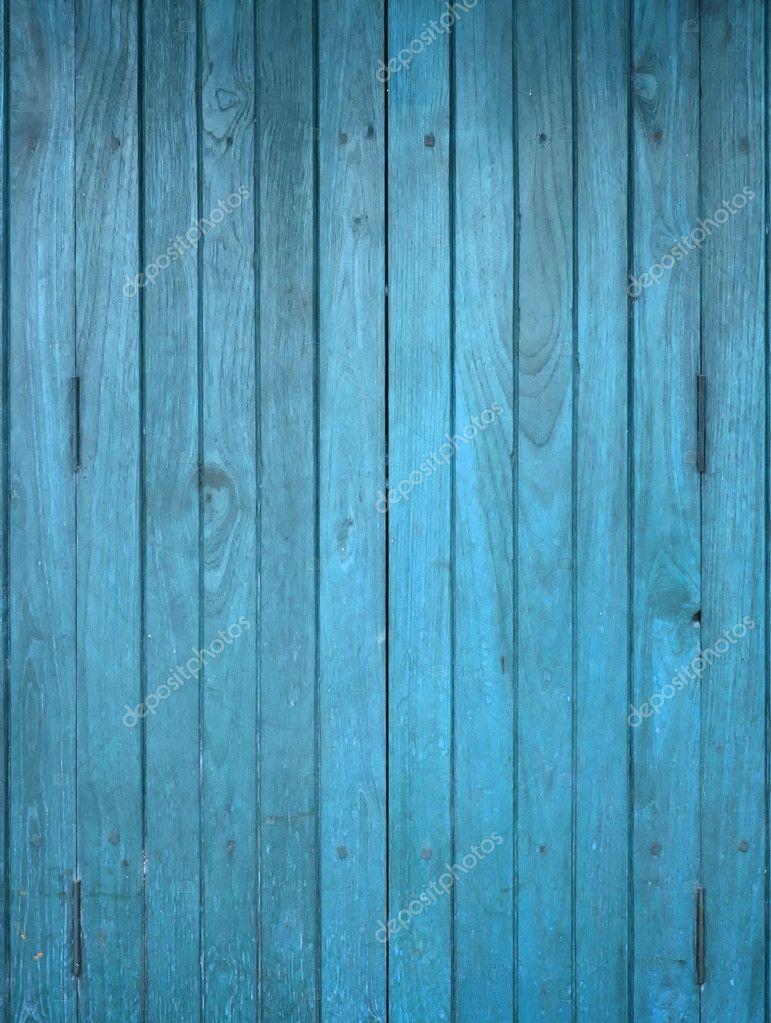 Wood blue panel
