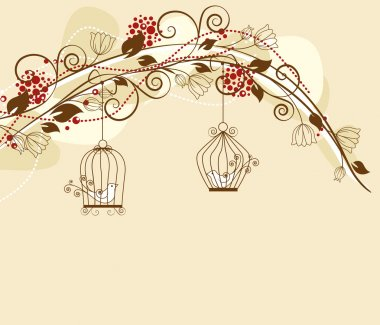 Caged birds