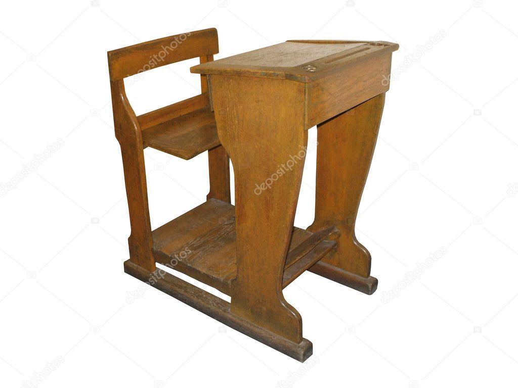 Bureau d école avec siège u photographie daseaford