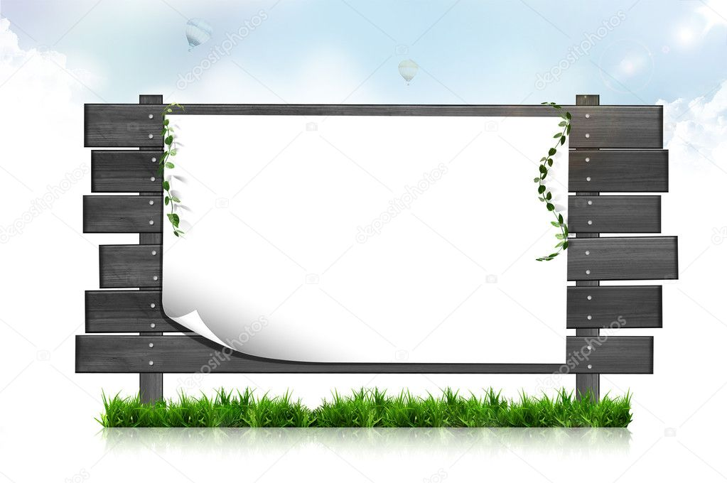 Blank abstract nature background