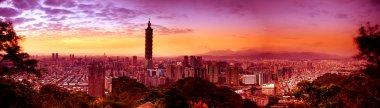 Night scenes of the Taipei city, Ta