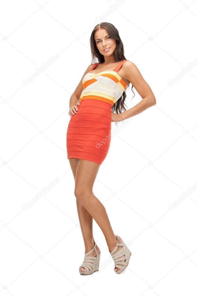 a738f1a38e4 belle femme en robe élégante — Photographie Syda Productions ©  8948927