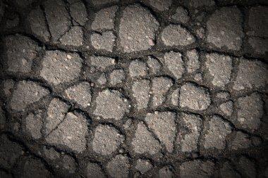 Cracks on Gray Pavement