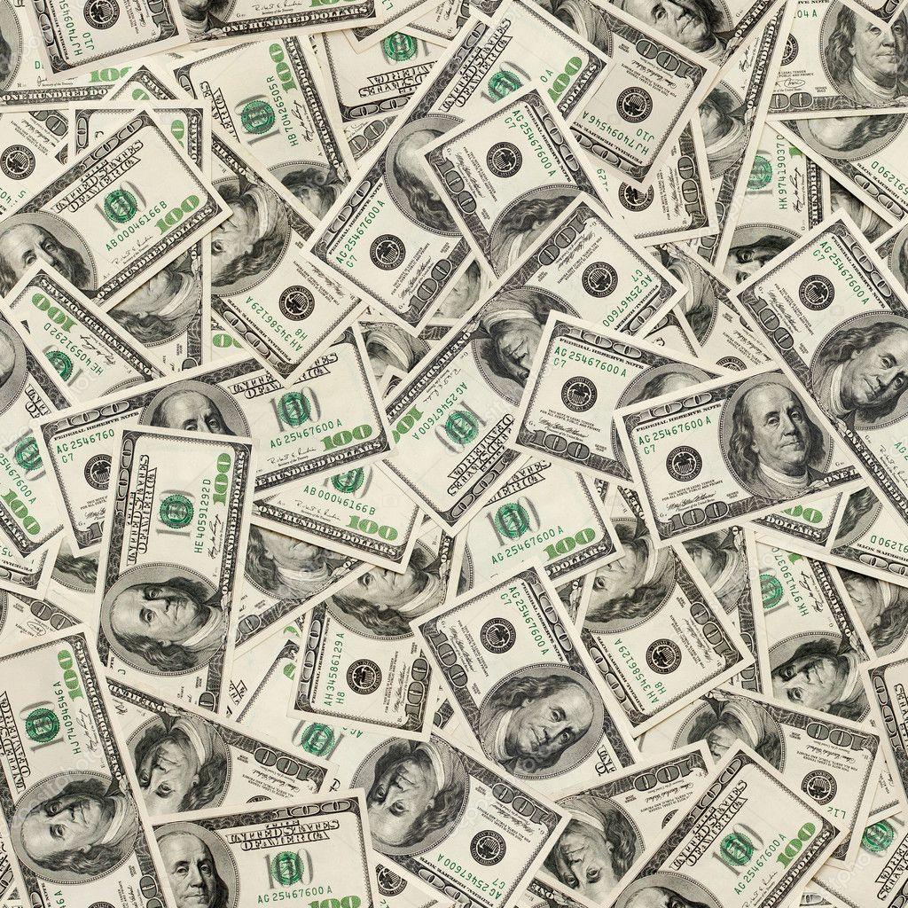 Dollars seamless background.