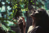 úžasné fotografie bruneta krása