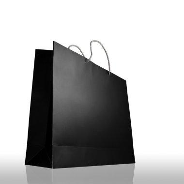 Glaze shopping bag isolated on white background