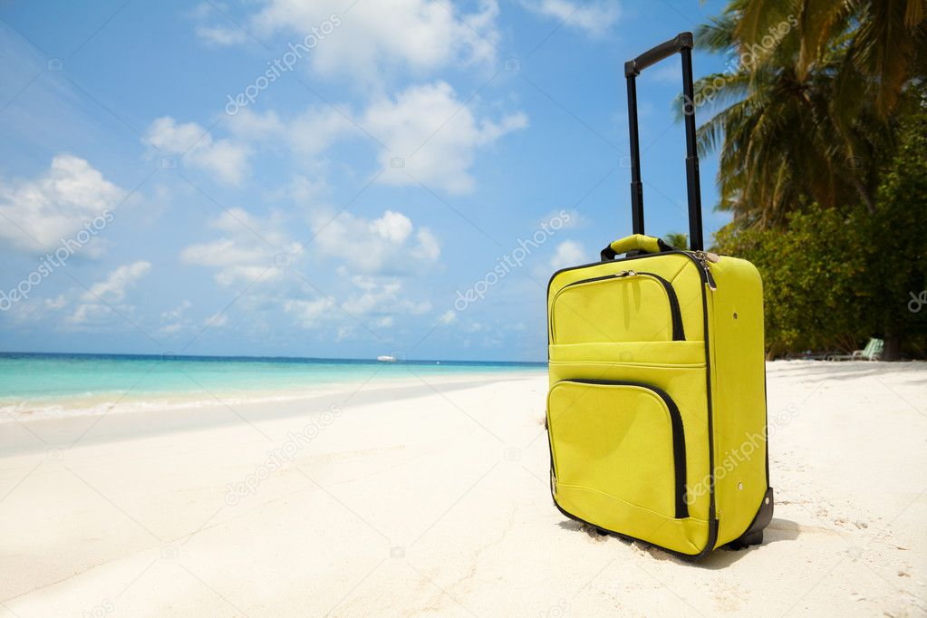 Traveling to vacation destination