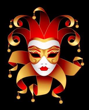 Mask of woman